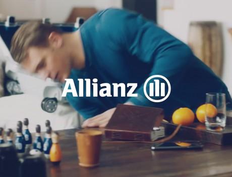 Allianz – Koffer packen mit Manuel Neuer!